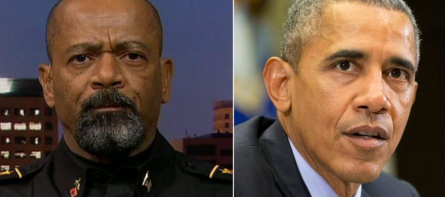Sheriff Clarke Eviscerates Obama For Failing To Do His Job And Stop Anti-Trump Riots [VIDEO]