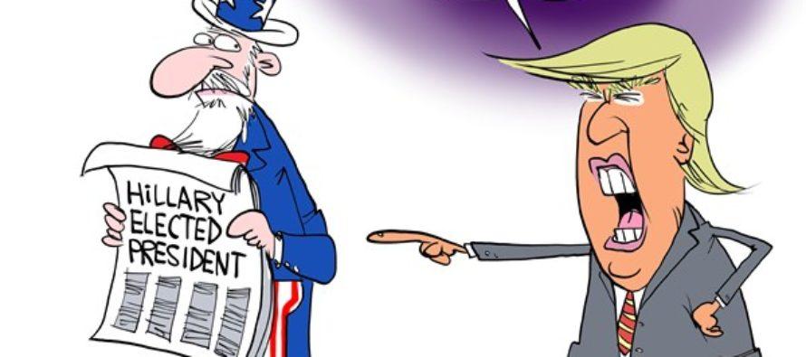 Trump Loses (Cartoon)