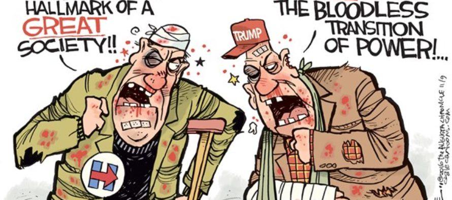 Bloodless Election (Cartoon)
