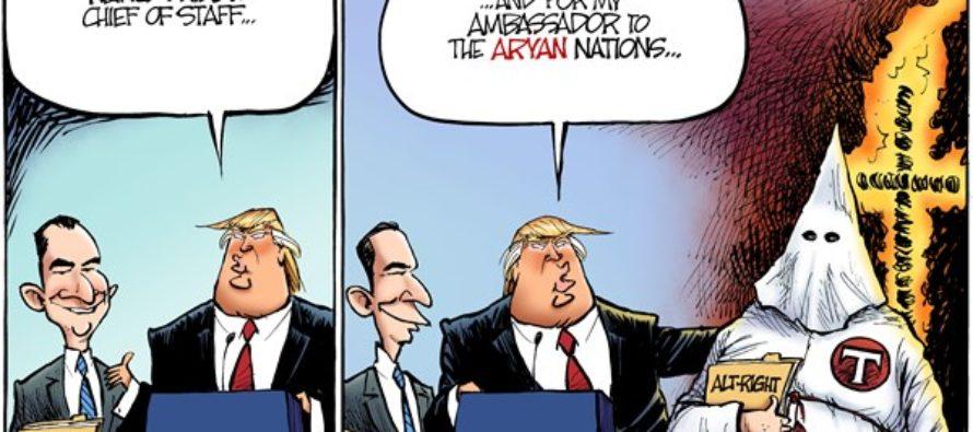 Trump Appointments (Cartoon)