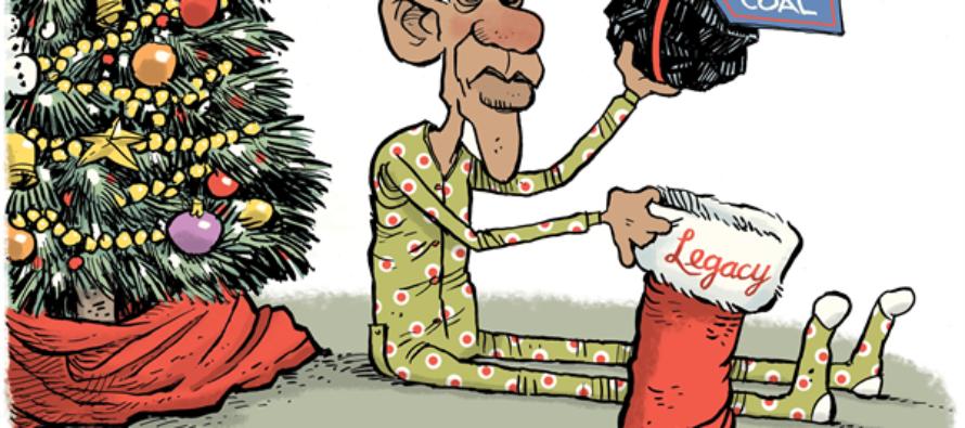 Obama Legacy (Cartoon)