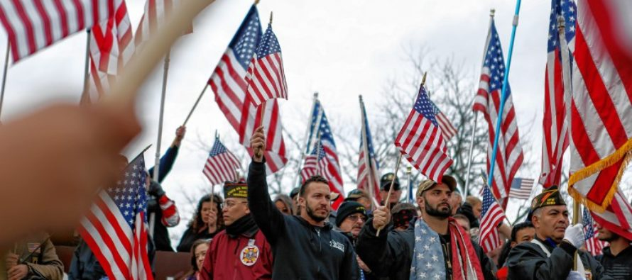 Socialist College Brats Take Down Campus American Flag…1,000 Vets And Supporters Show Up! – VIDEO