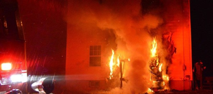 Boy Runs Back Into FLAME ENGULFED Home To Save His 3 Yr-Old Sister's Life