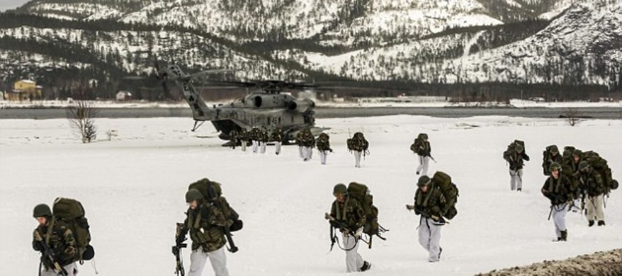 Norway Lets 330 US Marines Into Its' Country…RUSSIA Threatens 'Nuclear' War