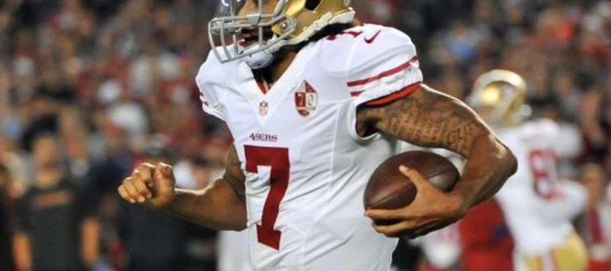 Colin Kaepernick Contract Slashed. This Will Likely Be His Last Season