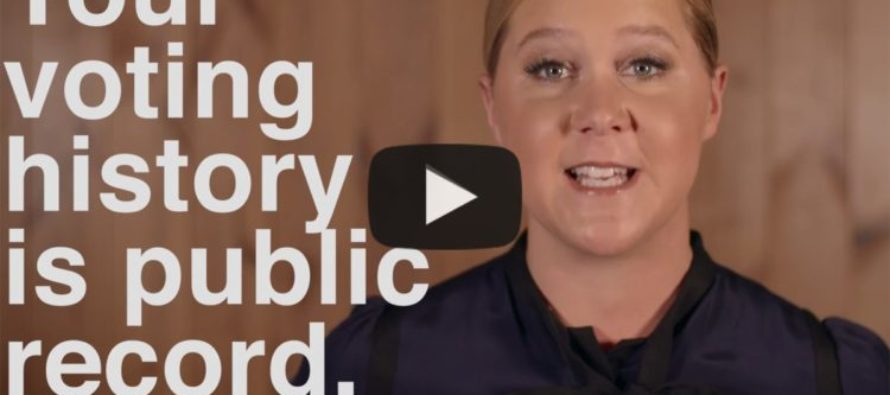 WATCH: Feminist Amy Schumer Snaps, Tries Shaming You Into Voting For Hillary! [VIDEO]