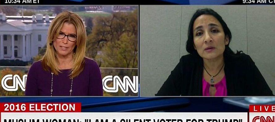CNN Host SILENCED When Muslim Democrat Woman Explains Why She Voted TRUMP!