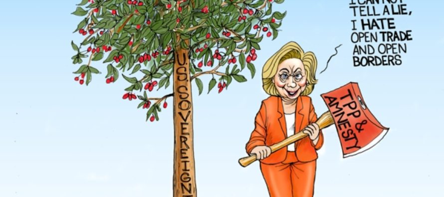 Honest Hillary (Cartoon)