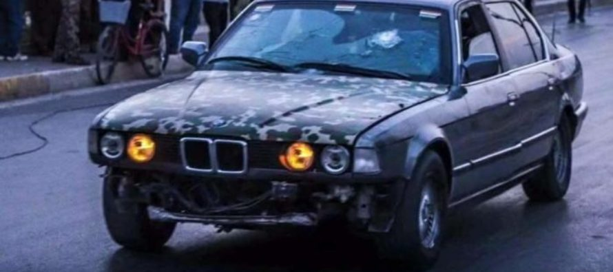 Driver rescues people in Bulletproof BMW during ISIS Attack