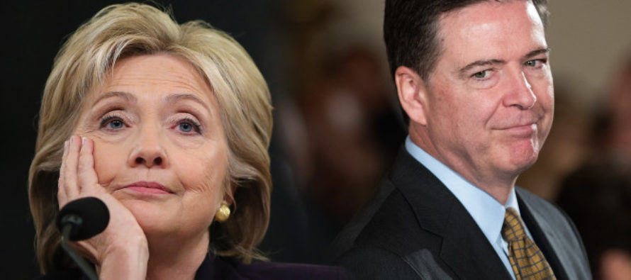 JUST IN: Here's WHY Comey Reopened Hillary Investigation