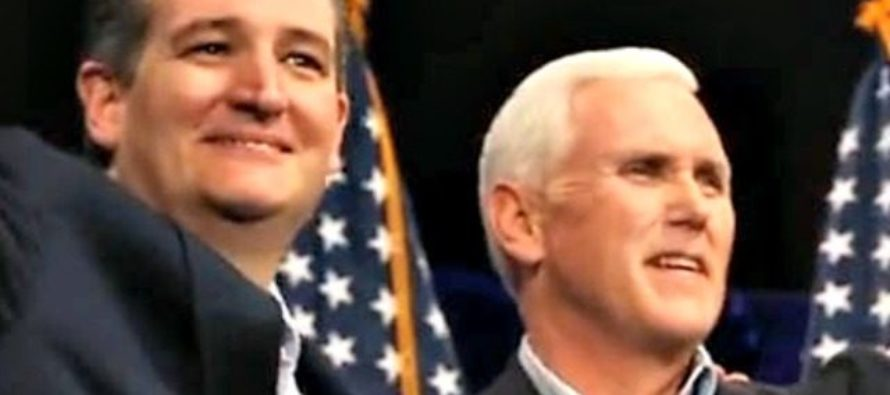 STRONG END GAME! Ted Cruz Hits Campaign Trail With PENCE In Iowa!