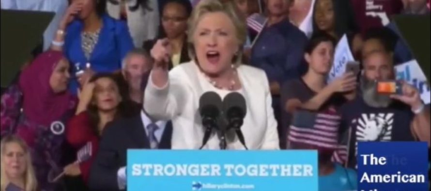 Hillary LOSES IT When Protester Yells 'Bill Clinton Is a RAPIST!' [VIDEO]