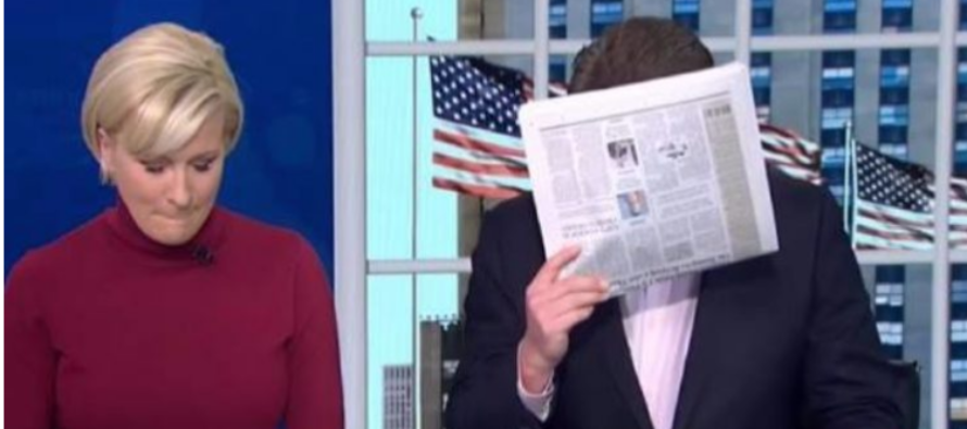 MSNBC Host Has the BEST Reaction to Hillary's Recount Efforts… [VIDEO]