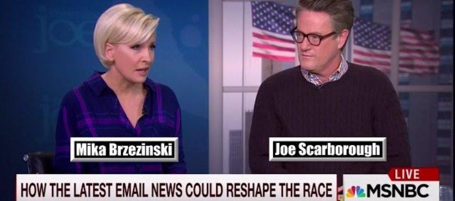 IT'S HAPPENING! Liberal MSNBC Host Mika Brzezinski TURNS ON HILLARY CLINTON OVER FBI SCANDAL [VIDEO]