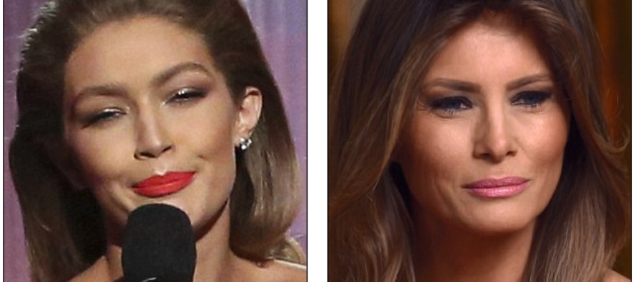 Outrage After Model Gigi Hadid Mocks First Lady Melania Trump at Awards Show [VIDEO]