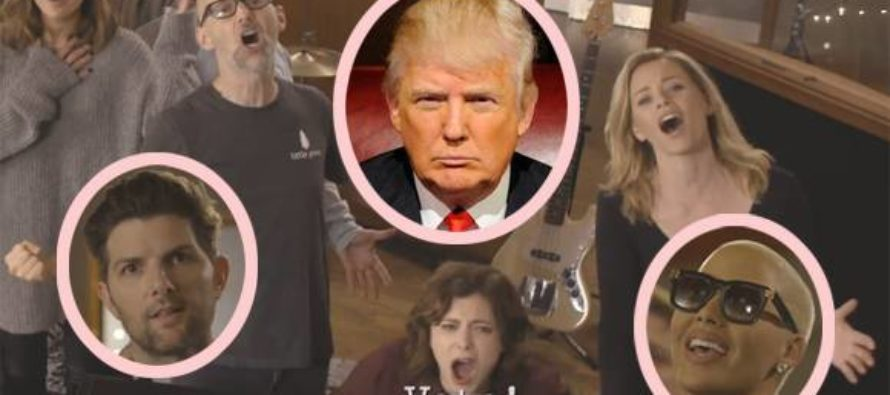 """Hollywood Liberals Just Made A """"Pro-Hillary Music Video"""" That PROVES They Are The Problem"""
