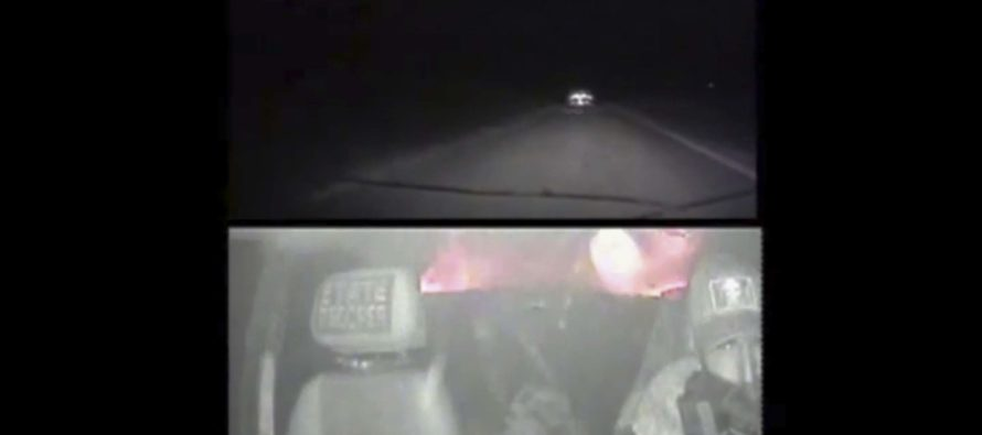 Amazing Footage Captures Deputy Shooting Through His Windshield To Take Down Murdering Fugitive! – VIDEO