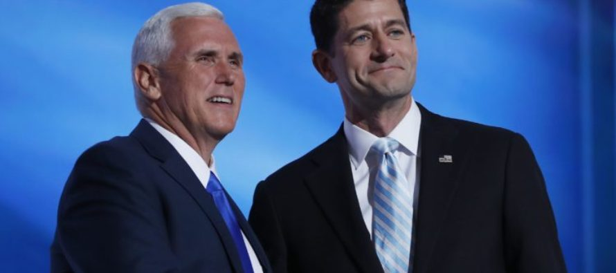 GOP UNITY? House Speaker Paul Ryan Campaigns With PENCE!