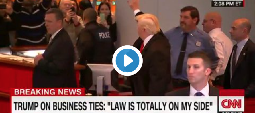 Trump BOOED Immediately as He Entered the New York Times Building – Here's How He Reacted [VIDEO]