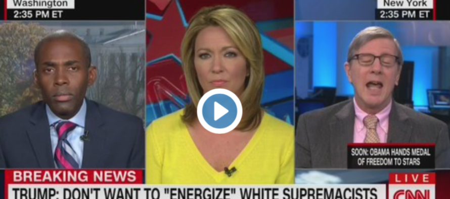 Watch CNN Host BREAK DOWN Live on Air After Guest Uses N-Word [VIDEO]