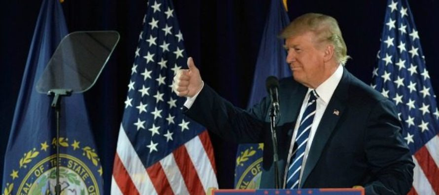 EXCLUSIVE: Trump Takes Commanding Lead In One Of The Top Ten Liberal States! [VIDEO]