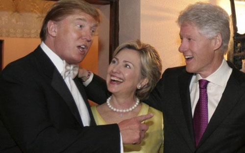 Trump-Hillary-Wedding