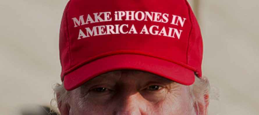 Trump Said It, EVERYONE Doubted Him, But Now Apple Might Make iPhones In America!?!?