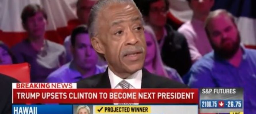 Let the Race Baiting Begin! Al Sharpton Blames RACISM for Trump Victory [VIDEO]