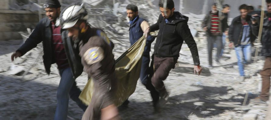 Last hospital in Aleppo BOMBED by airstrikes, people scramble for safety