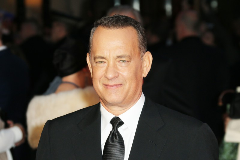 Tom Hanks, The BFI London Film Festival: Saving Mr Banks - World Film Premiere, Odeon Leicester Square, London UK, 20 October 2013.