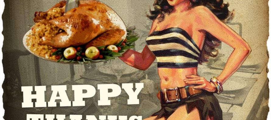 Happy Thanksgiving Pinup