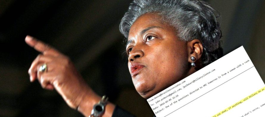 WIKILEAKS: Donna Brazile Sent EVEN MORE Debate Q's to Hillary