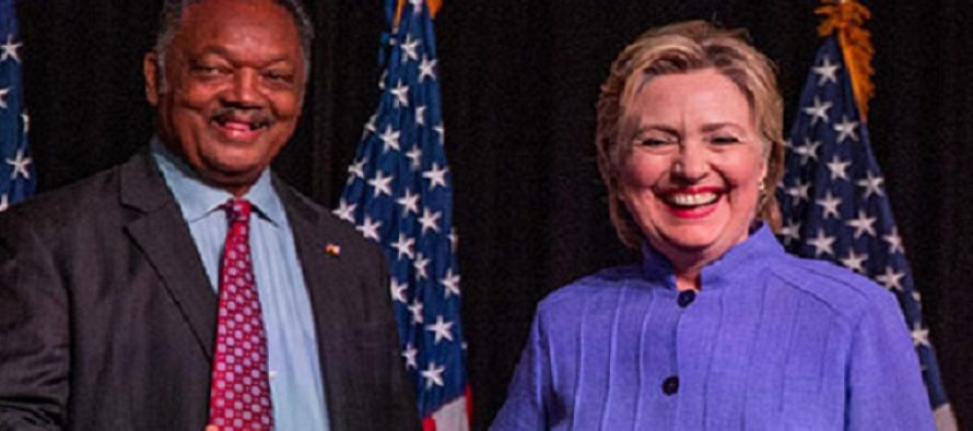 Rev. Jesse Jackson URGES Obama To PARDON Hillary Clinton Before Trump Puts Her In Jail