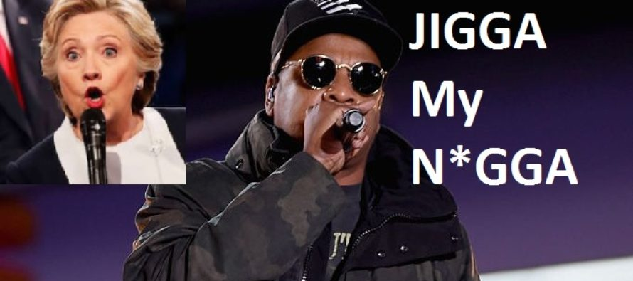 Jay Z sings the N WORD at Hillary's event, mainstream media ignores it