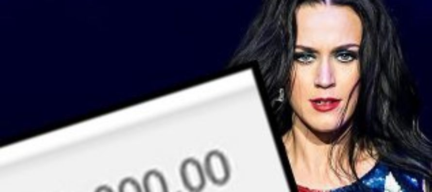 'Time to turn words into action!': Katy Perry Donates 10k To Planned Parenthood, Scared That Trump Will Defund Them… [VIDEO]