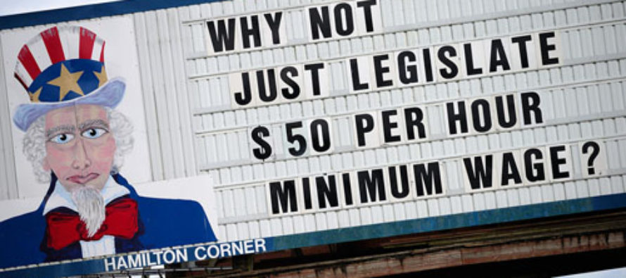 Minimum Wage Ballot Initiatives Threaten Low-Wage Jobs