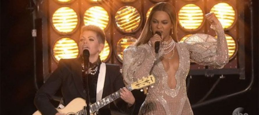 "Beyonce Performs At CMAs, OUTRAGE Ensues ""…Cop hating, Anti-American Racist on their stage!"""