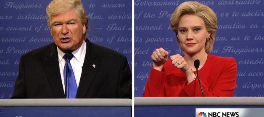 Say, Can SNL Take Down Trump Or Something?