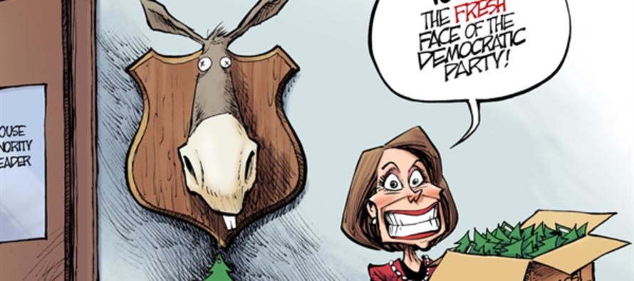 Democratic Leadership (Cartoon)