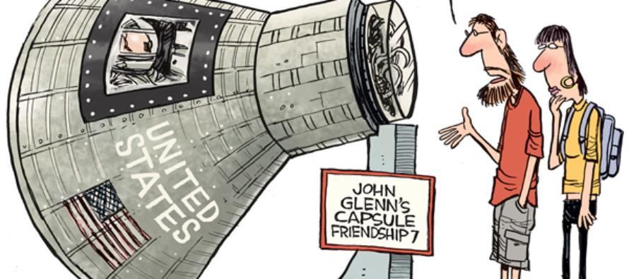 John Glenn (Cartoon)