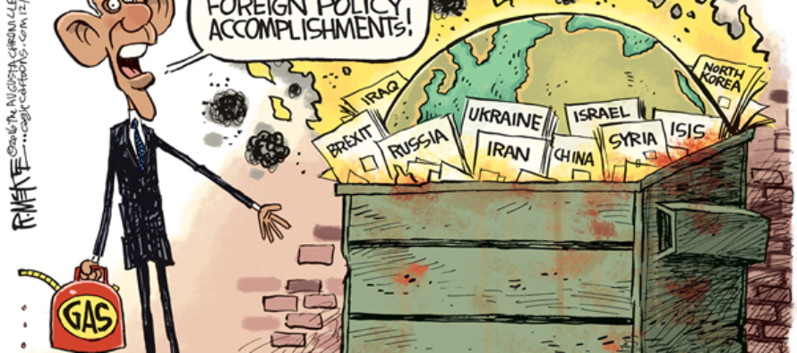 Obama Foreign Policy (Cartoon)