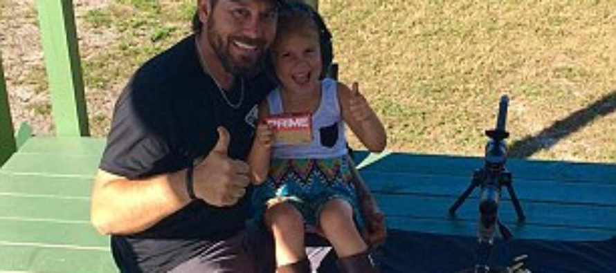 VIDEO: Libs outraged as dad posts video showing him teaching his 4 year-old daughter to shoot a rifle