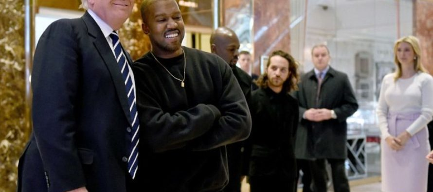 PHOTOS: Kanye West Just Entered Trump Tower Because…? [VIDEO]
