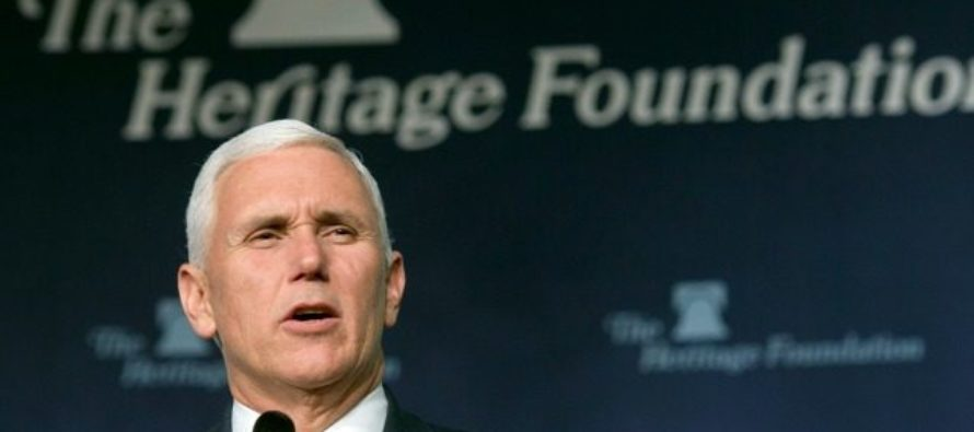 Mike Pence: 'Obama's Era OF FAILED Policies That Weaken Our Nation Are OVER!' [VIDEO]
