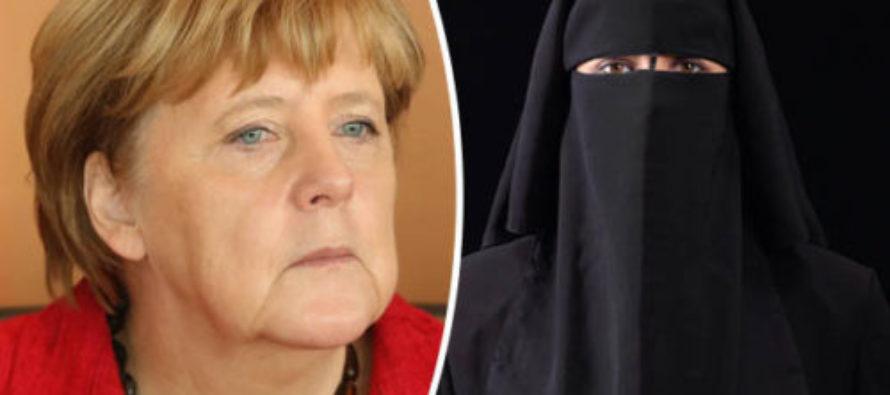 Hit The Limit? Angela Merkel SWEARS Burqa Ban in Germany Is Coming… [VIDEO]