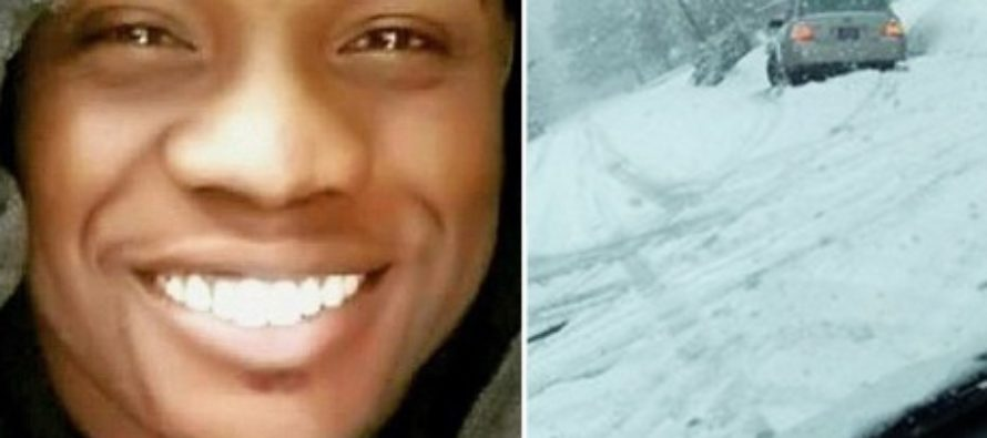 BlackLivesMatter Supporter Spots Driver Stuck In Snow, Then Sees Trump Sticker – Guess What Happens Next?