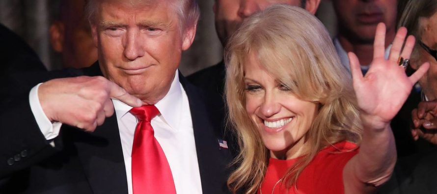 BREAKING: Trump Makes HUGE Announcement About KellyAnne Conway