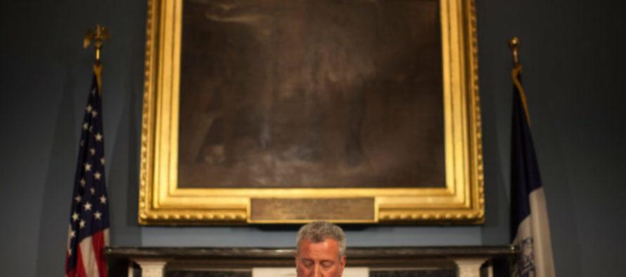 Liberal NYC Mayor Bill de Blasio May Face Criminal Charges
