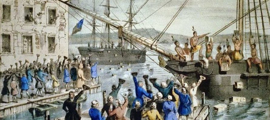These Patriots Took A Stand 243 Years Ago – This Is The TEA PARTY! [VIDEO]