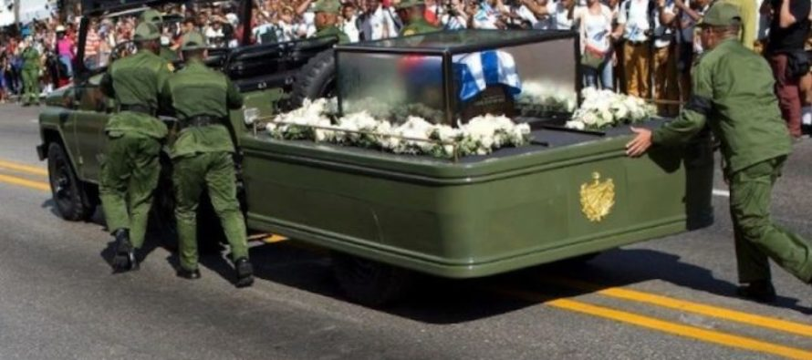 IRONY ALERT: Jeep Transporting Castro's Ashes Breaks Down… One Last Dose Of Karma